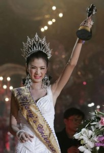 Winner of the Miss Tiffany's Universe transgender beauty competition